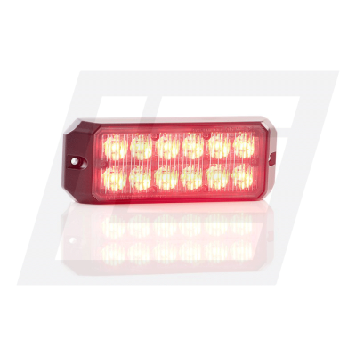 12 LED Red Double Module